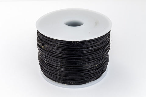Black 1mm Cotton Cord #CDT026-General Bead