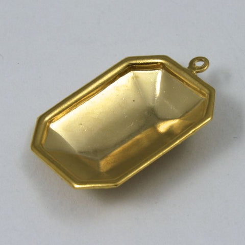 13mm x 18mm Cabochon Setting #78- Gold