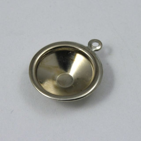 12mm Cabochon Setting #71 Silver-General Bead