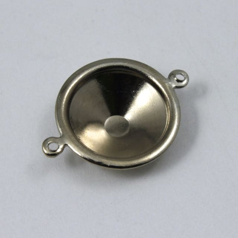 14mm Cabochon Setting #72- Silver-General Bead