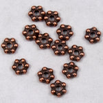 3mm Antique Copper Tierracast Pewter Beaded Daisy Spacer #CKC125-General Bead
