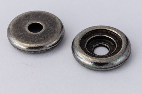 34ss Antique Pewter TierraCast Glue In Rivetable (20 Pcs) #CK764-General Bead