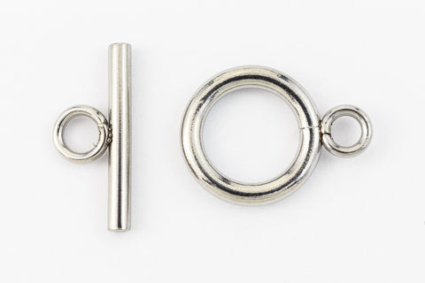 12mm Stainless Steel Simple Toggle Clasp #CLA201-General Bead