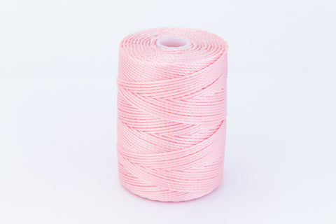 Bubblegum C-Lon 0.9mm Bonded Nylon Heavy Bead Cord-General Bead