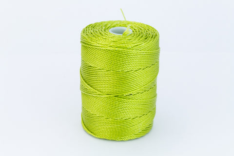 Chartreuse C-Lon 0.115mm Bonded Nylon Micro Bead Cord-General Bead