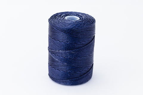 Indigo C-Lon 0.9mm Bonded Nylon Heavy Bead Cord-General Bead