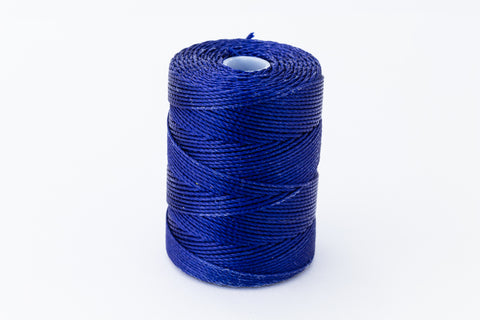 Persian Indigo C-Lon 0.9mm Bonded Nylon Heavy Bead Cord-General Bead