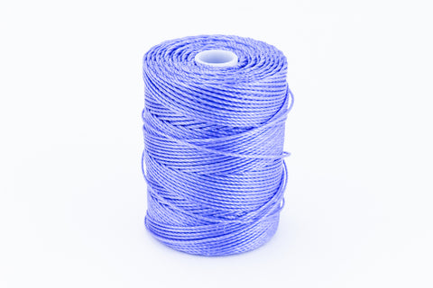 Violet C-Lon 0.9mm Bonded Nylon Heavy Bead Cord-General Bead