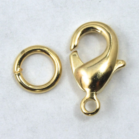 10mm 14 Karat Gold Filled Lobster Clasp #BGB019-General Bead