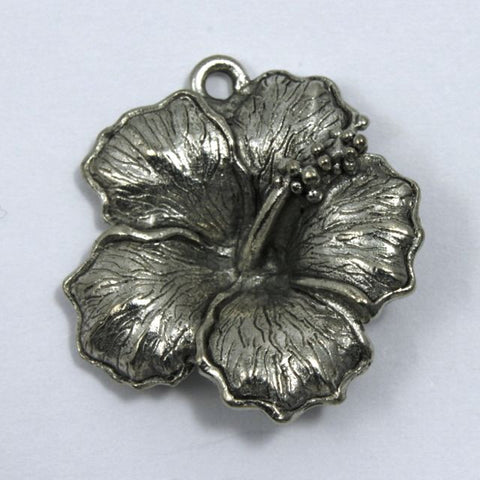 22mm Hibiscus Flower Pendant-General Bead