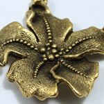 32mm Star Center Flower Pendant
