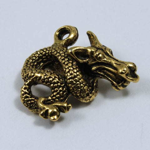 Antique Gold Dragon-General Bead