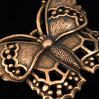 40mm Antique Copper Butterfly Charm-General Bead