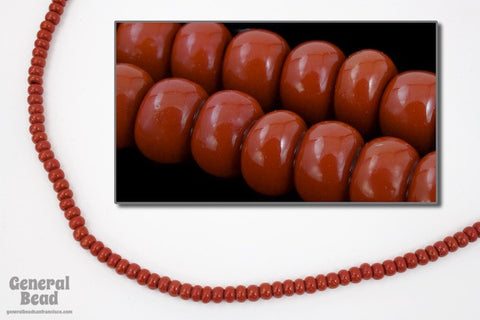 6/0 Opaque Burnt Sienna Seed Bead (20 Gm, 1/2 Kilo) #CSB082-General Bead