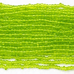 13/0 Transparent Chartreuse Seed Bead-General Bead