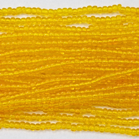 13/0 Transparent Mango Seed Bead-General Bead