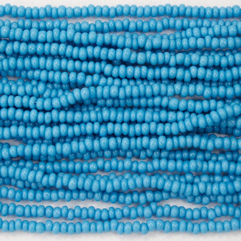 14/0 Opaque Baby Blue Czech Seed Bead-General Bead