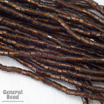 10/0 Silver Lined Dark Goldrod 2 Cut Czech Seed Bead (Hank) #CSM002-General Bead