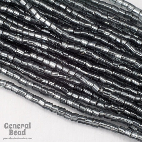 10/0 Silver Lined Black Diamond 2 Cut Czech Seed Bead