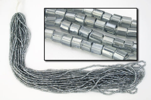 10/0 Luster Black Diamond 2 Cut Czech Seed Bead
