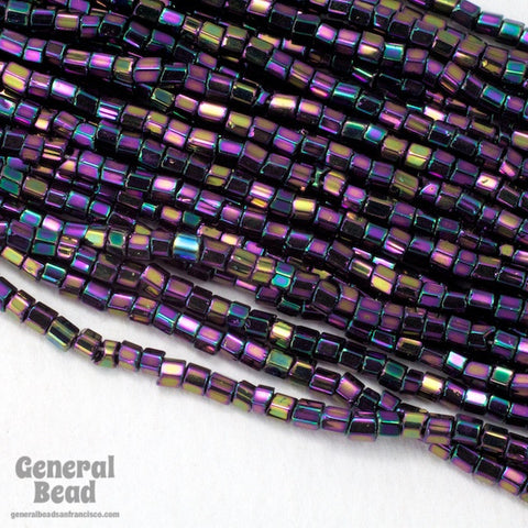 11/0 Purple Iris 2 Cut Czech Seed Bead (10 Gm, Hank, 1/2 Kilo) #CSN025-General Bead