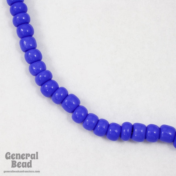 1/0 Opaque Periwinkle Czech Seed Bead