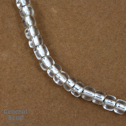 1/0 Silver Lined Crystal Czech Seed Bead (40 Gm) #CST017-General Bead