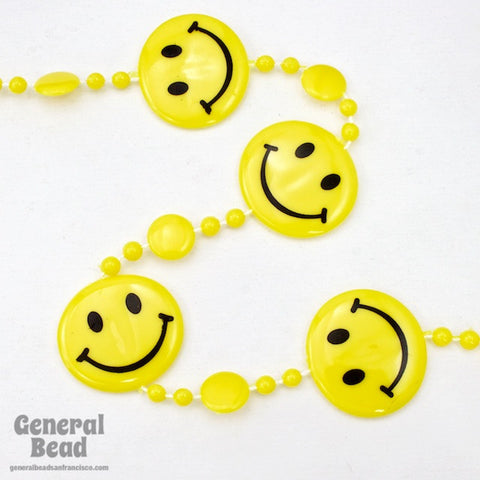 Smily Face Bead Strand for Curtain