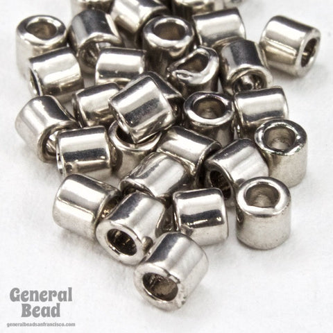 DBL038- 8/0 Palladium Plated Delica Beads