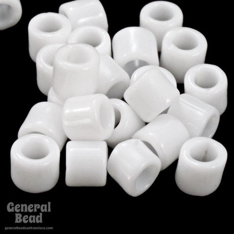 DBL200- 8/0 Opaque Chalk White Delica Beads