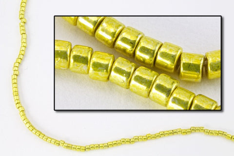 DBV424- 11/0 Galvanized Lemon Delica Beads-General Bead
