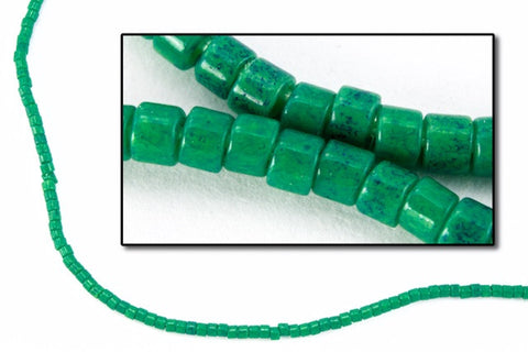 DBV656- 11/0 Dyed Opaque Jade Delica Beads-General Bead