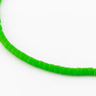 DBV754- 11/0 Matte Opaque Pea Green Delica Beads-General Bead