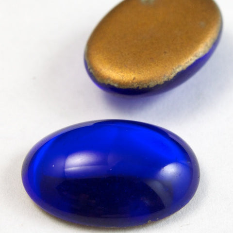13mm x 18mm Sapphire Oval Cabochon #FGG019