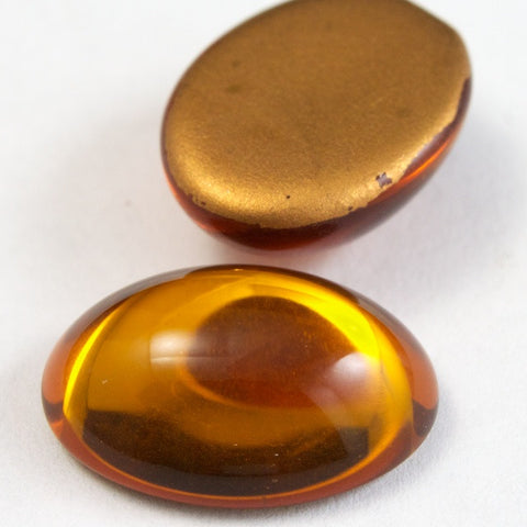 13mm x 18mm Topaz Oval Cabochon #FGH019