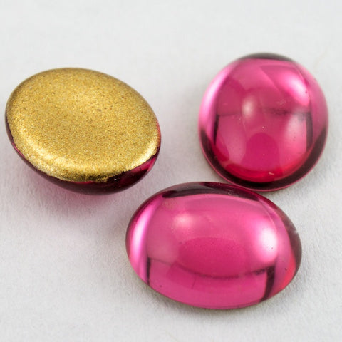13mm x 18mm Rose Oval Cabochon #FGJ019