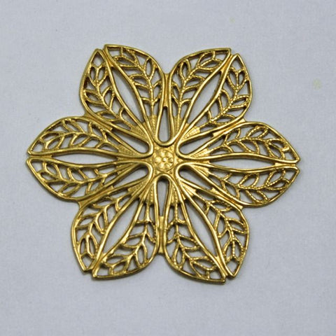 Filigree #37 Raw Brass