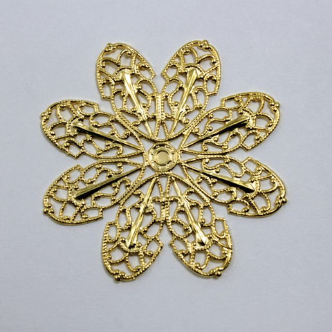 Filigree #8 Gold