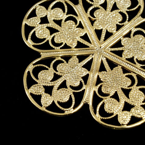 Filigree #14 Gold-General Bead