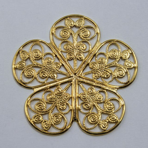 Filigree #14 Gold