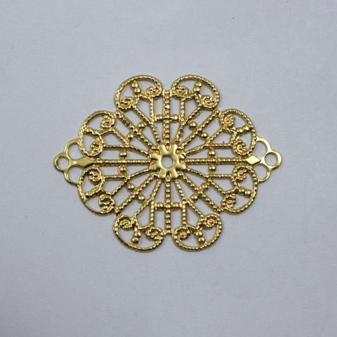 Filigree #28 Gold