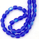 4mm Matte Sapphire AB Fire Polished Bead-General Bead