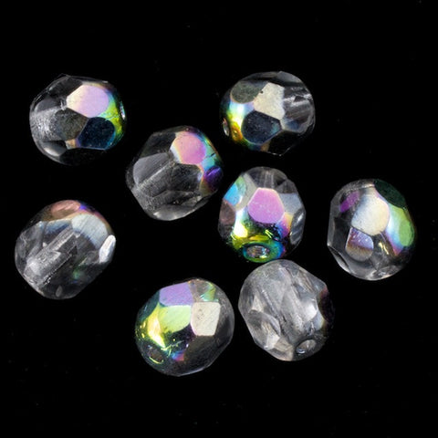 6mm Vitrail Medium Fire Polished Bead-General Bead