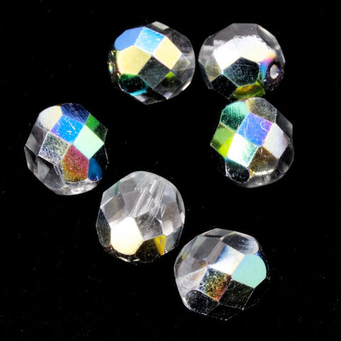 8mm Vitrail Medium Fire Polished Bead-General Bead