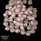 11/0 Light Pink Lined Crystal Japanese Seed Bead-General Bead
