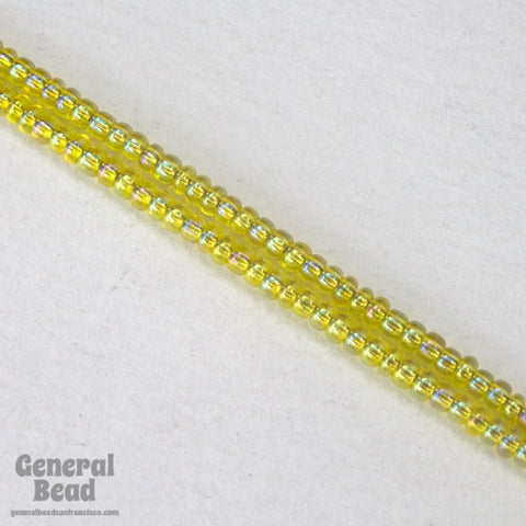 11/0 Transparent Yellow AB Japanese Seed Bead-General Bead