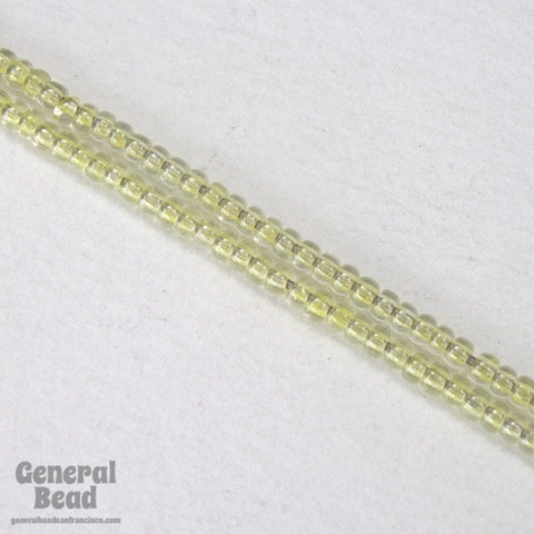 11/0 Light Yellow Lined Crystal Japanese Seed Bead-General Bead