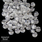11/0 Light Grey Lined Crystal Japanese Seed Bead-General Bead