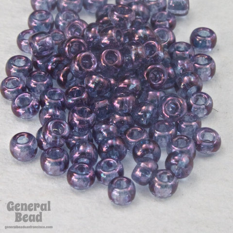 11/0 Gold Luster Light Amethyst Japanese Seed Bead-General Bead