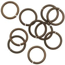 6mm Brass Jumprings (100pcs)